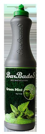 Барный Cироп Зелёная мята Барбадос barbados.kz