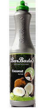 Барный Cироп Кокос Барбадос 1 л / barbados.kz