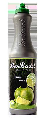 Барный Cироп Лайм Барбадос 1 л / barbados.kz
