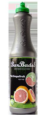 Барный Cироп Розовый грейпфрут Барбадос 1 л / barbados.kz