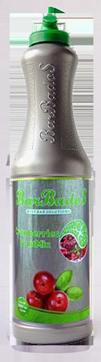 Фруктовый микс Клюква Барбадос 1 л / barbados.kg