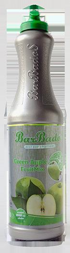 Фруктовый микс Зеленое яблоко Барбадос 1 л / barbados.kz